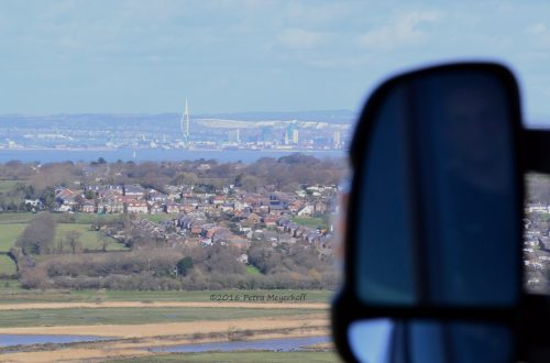 Blick auf Portsmouth / View to Portsmouth